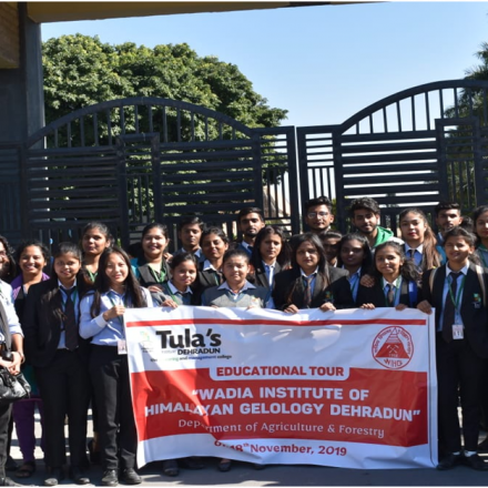 An Educational tour to Wadia Institute Dehradun