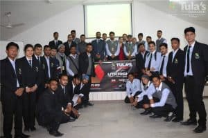 a group photo from tula's institute best engineering college in dehradun