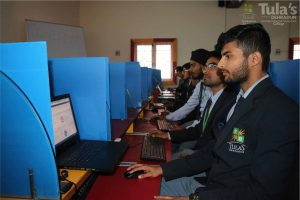 Students participated in various events of fest in TI