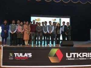 Students actively participated in Utkrisht 2017, a tech and management fest