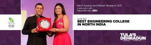 Tula's Institute awarded with best engineering college in north india