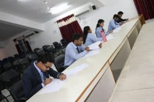 Campus Placement Drive of Exza Infosystems Pvt. Ltd