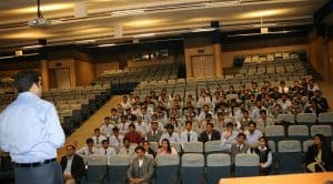 campus placement drive of Vodafone