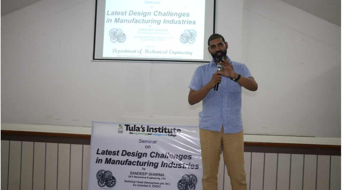 seminar on Latest Design Challenges in Manufacturing Industries
