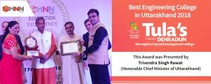 Awarded as the Best Engineering College Uttarakhand