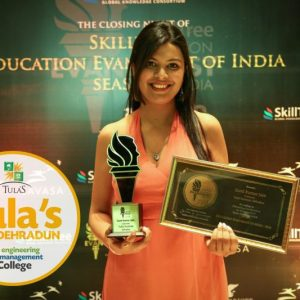 Awarded Education Evangelist of India by SkillTree.