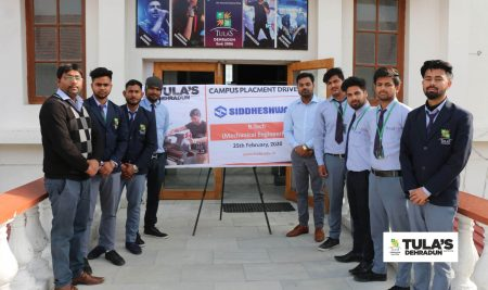 Siddheshwar Industries Pvt. Ltd. Campus Placement Drive