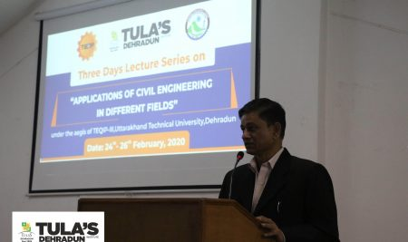 Three Days Lecture Series on Applications of Civil Engineering