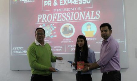 Four-day event 'Professional' by VIBGYOR